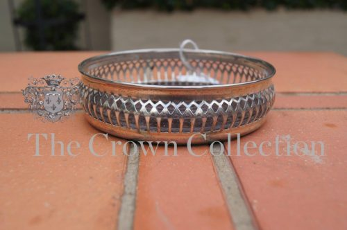 Silver Plate Wine Coasters