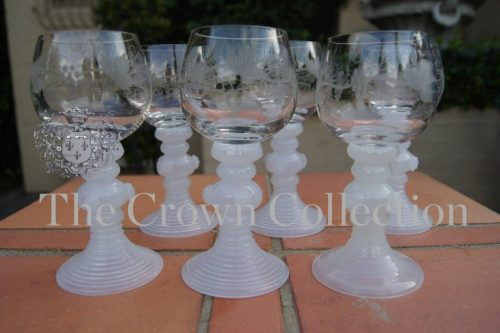 Set of 6 Wine Goblets