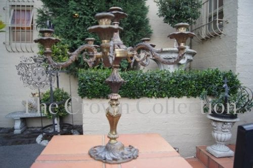 Brass Candelabra (damaged base)