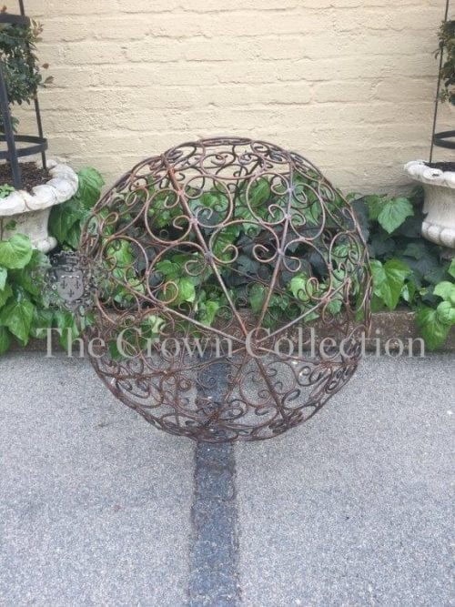 Wrought Iron Decorative Ball - ND