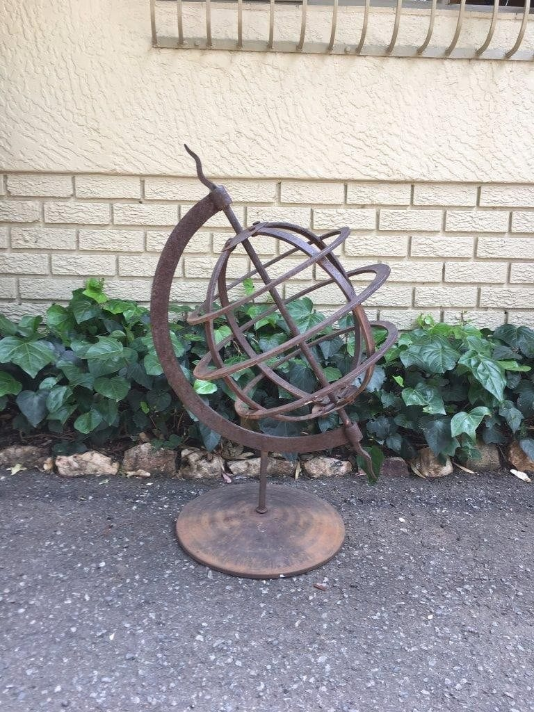 Wrought Iron Armillary Sphere