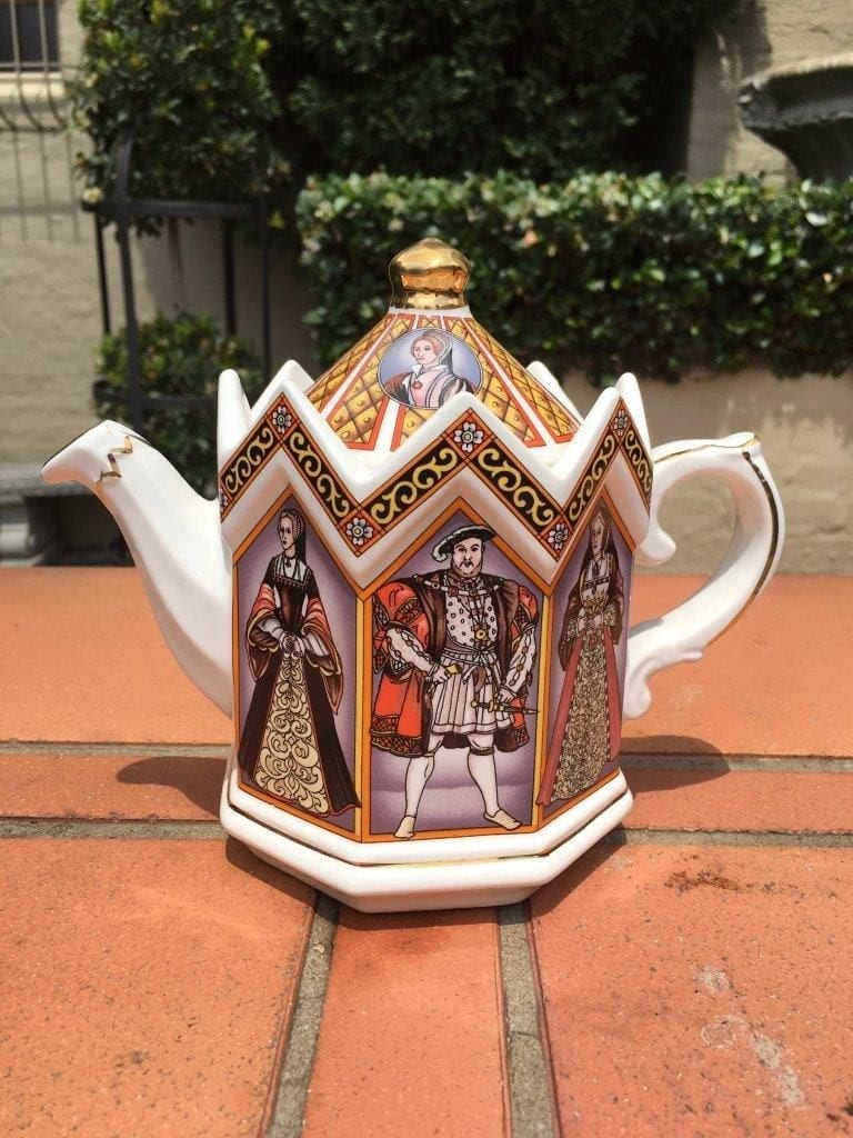 Collectable James Sadlerking Henry VIII & His Six Wives Teapot