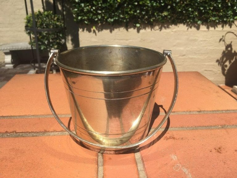 Silver Plated Ice Bucket - ND