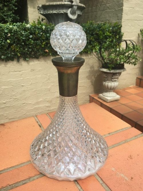 Crystal Decanter - ND