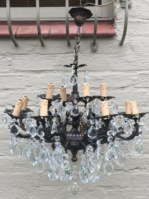 Vintage 8 Arm Cherub Chandelier Circa 1940 - ND - L Archives - Page 19 Of 20 - The Crown Collection