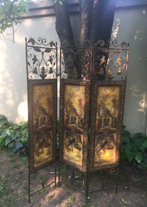 3 Panel Metal Screen