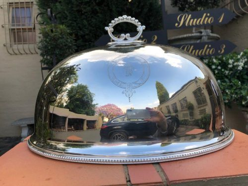 Silver Plate Food Dome
