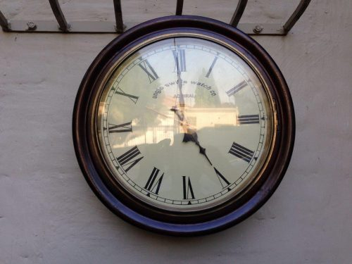 Anglo Swiss wall clock