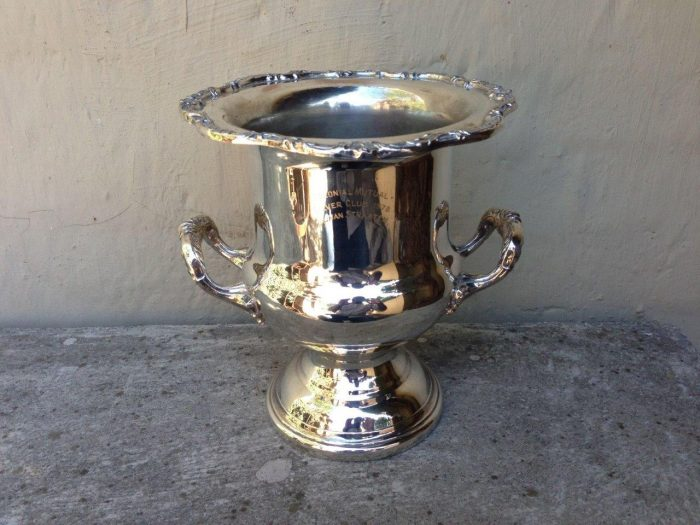 Silver Plated Champagne /Wine Cooler by Emess