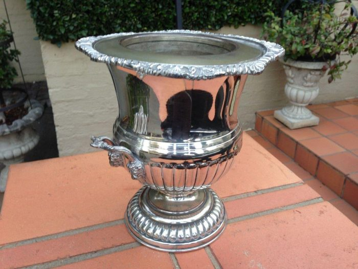 Vintage Silver Plated Champagne/Wine Cooler