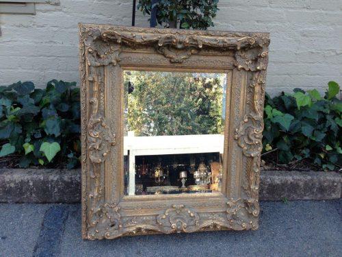 Gilded Shell & Scroll Framed Bevelled Mirror