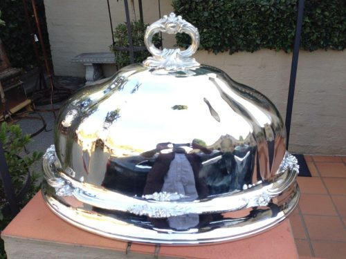 Silver Plated Food Domes