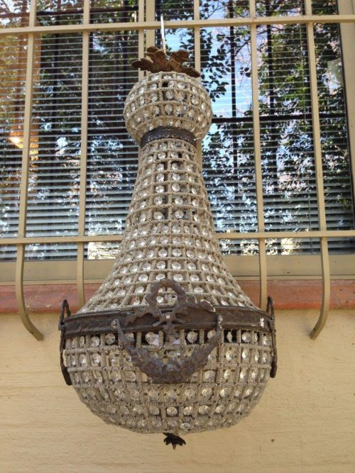 Empire Chandelier with Ball