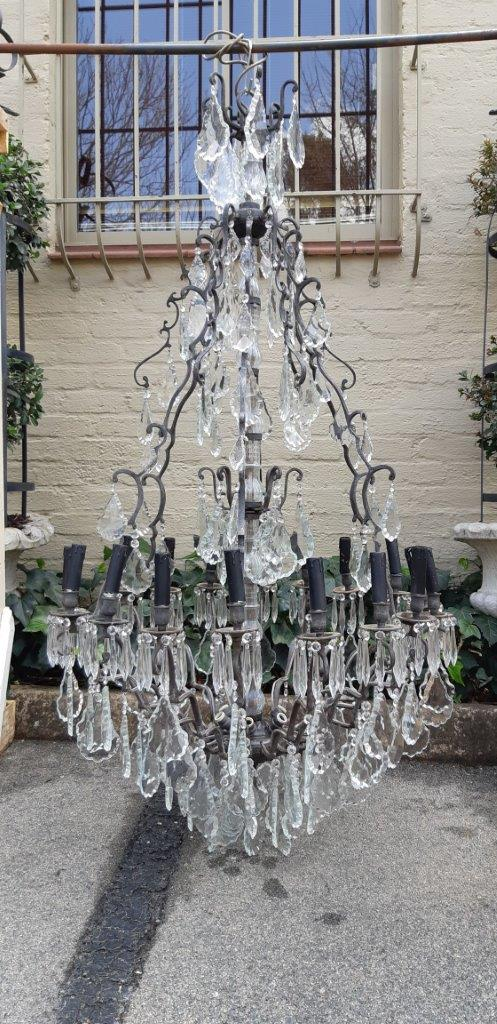 An 18-Arm Large size Chandelier