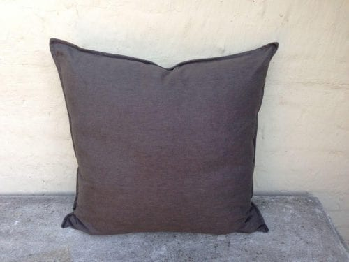 Grey Imported English Linen Cushions - ND