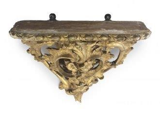 A 19th Century Giltwood Console Bracket