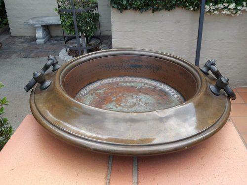 Vintage Decorative Copper Bowl
