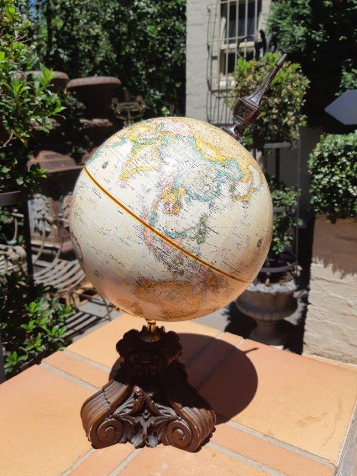 Vintage Thomas Blakemore Globe On Stand