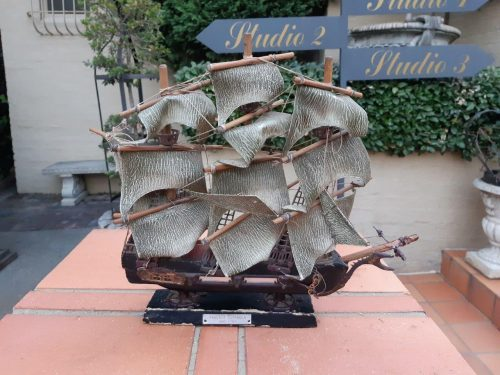 A Hand Crafted Sailing Ship Model: The Fragata Espanola 1780 - Nd