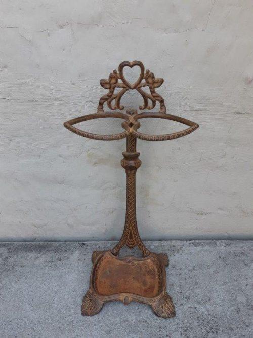 Wrought iron umbrella stand - ND
