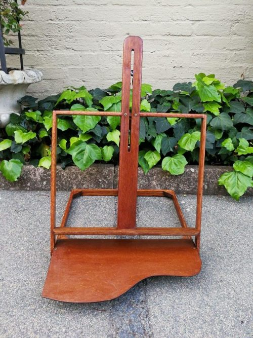 A Wooden Table Easel
