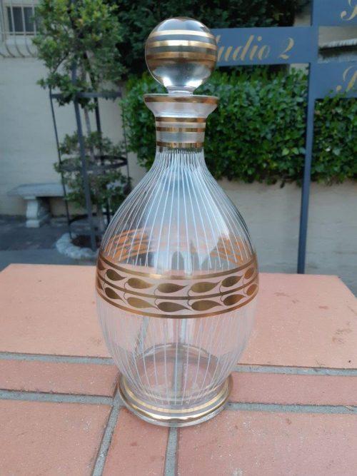 A Decorative Glass Decanter