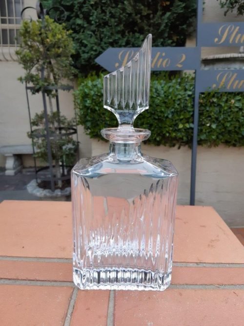 A Cut Glass Whiskey Decanter