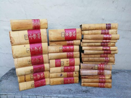 A Set Pf 41 Books Of Statutes Of Union Of South Africa.Circa: From Late 1800s To 1960