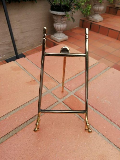 Classical Brass Easel
