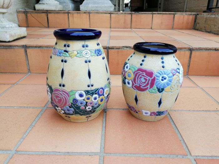 A set of two Amphora vases
