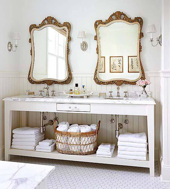 antique and vintage furniture for bathrooms