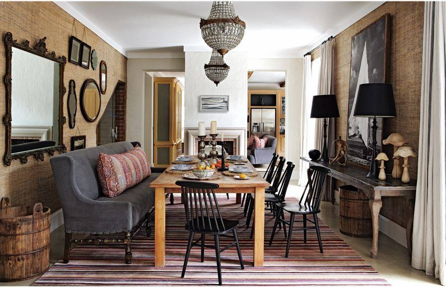 Modern & antique tables & chairs