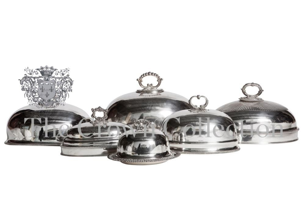 Silver Food Domes & Punch Bowls