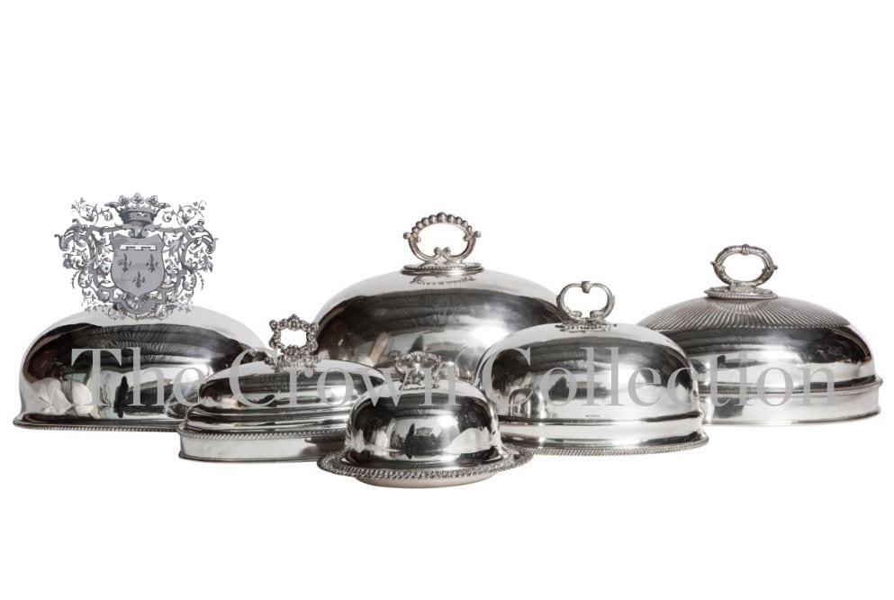 Silver Food Domes & Punch Bowls